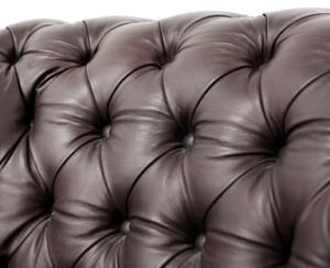 Leder-Couch-Sofa
